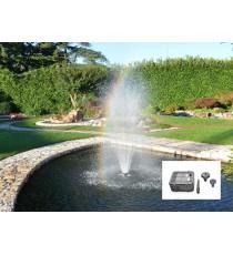 Giardini d' acqua kit pompa easy 15 con zampillo gigante