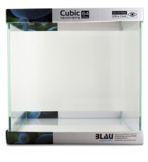 Blau acquario cubic aquascaping 64