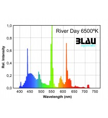 Blau aquaristic  T5 River Day 24W