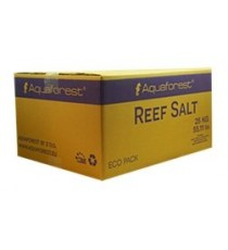 Aquaforest reef salt cartone da 25 kg
