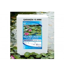Giardini d' acqua Telo PVC rinforzato 4.00 x 5.00 marrone